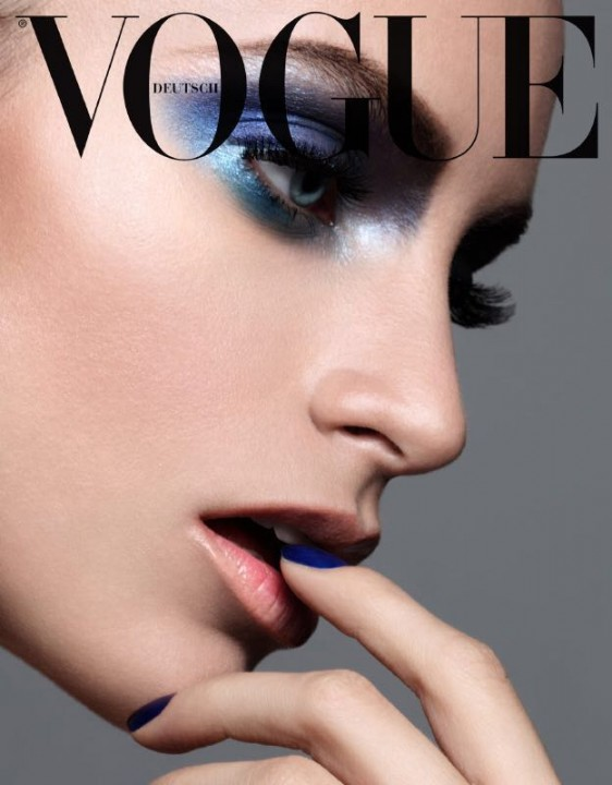 Vogue Germany - All in blue - Paco Peregrín - 2018