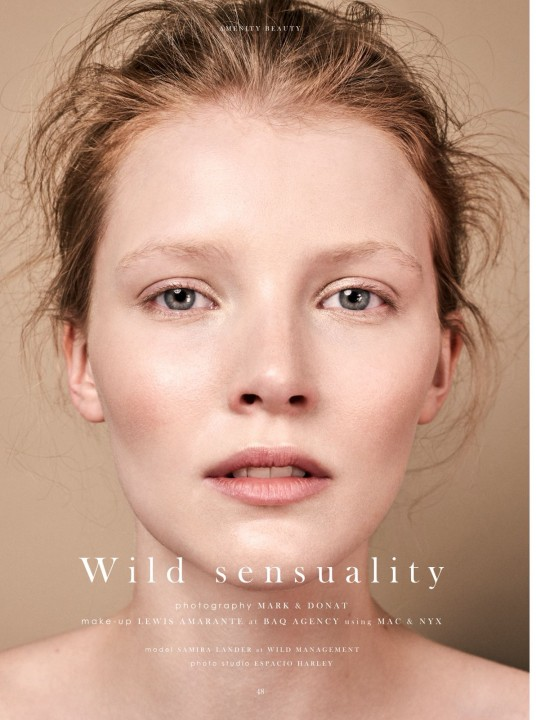 Amenity Fashion Magazine - Wild Sensuality - Mark & Donat - 2018
